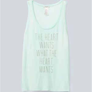 Talula Tank Top Size Large The Heart Wants